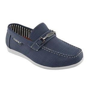 Big Boys Akademiks Navy Blue Loafers